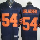 Chicago Bears # 54 Urlacher NFL Jersey Blue Orange