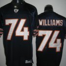 Chicago Bears # 74 Williams NFL Jersey Blue