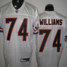 Chicago Bears # 74 Williams NFL Jersey White
