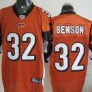 Cincinnati Bengals # 32 Benson NFL Jersey Orange