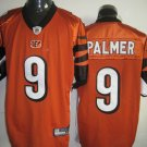 Cincinnati Bengals # 9 Palmer NFL Jersey Orange