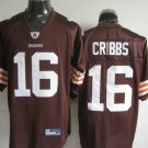 Cleveland Browns # 16 Cribbs NFL Jersey Brown