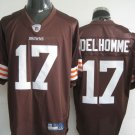 Cleveland Browns # 17 Delhomme NFL Jersey Brown
