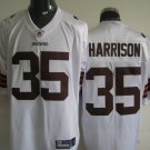 Cleveland Browns # 35 Harrison NFL Jersey White
