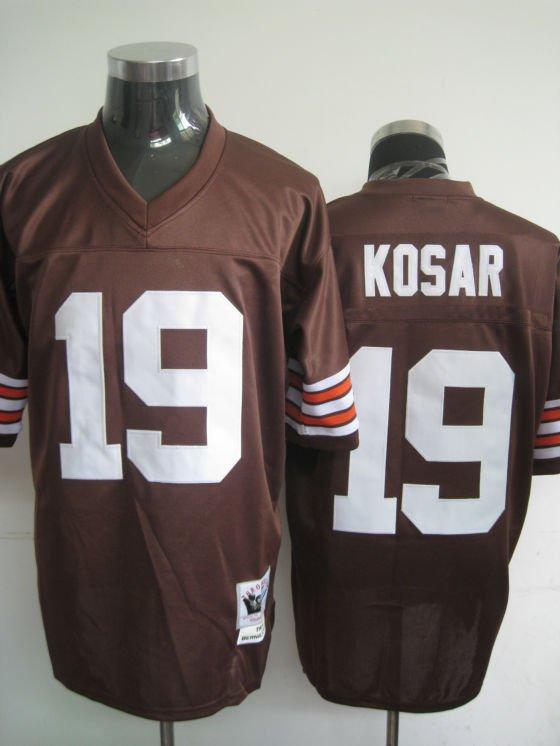 Cleveland Browns # 19 Kosar NFL Jersey Brown