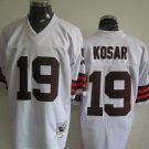 Cleveland Browns # 19 Kosar NFL Jersey White