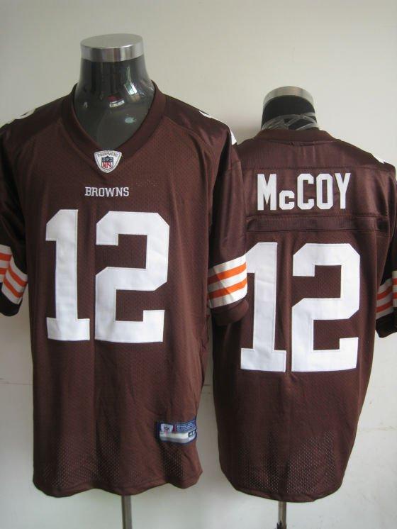 Cleveland Browns # 12 McCoy NFL Jersey Brown