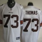 Cleveland Browns # 73 Thomas NFL Jersey White