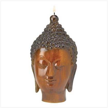 Serene Buddha Candle