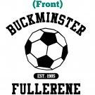 Chemistry T-Shirt - Size XL - Unisex White - Buckminsterfullerene (Doublesided)