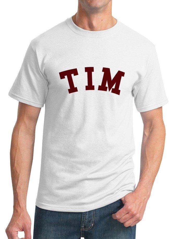 Nerd T-Shirt - Size L - Unisex White - TIM