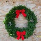 "36"" decorated balsam wreath"
