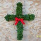 Cross balsam wreath