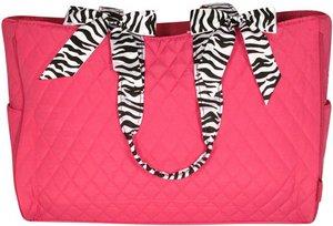 Diaper Bag w/ Zebra Trim (NAME ONLY)