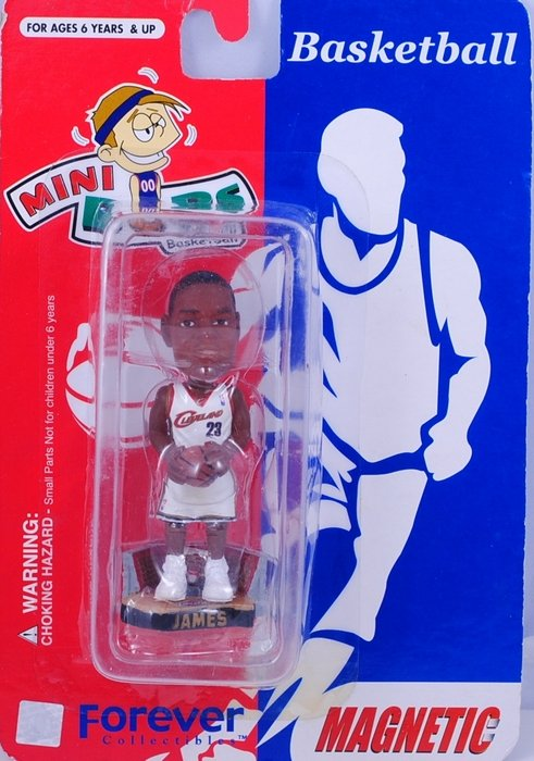 LeBron James #23 Forever Collectibles Bobblehead
