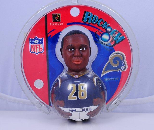 St. Louis Rams Marshall Faulk #28 Collectible