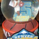 Forever Collectibles Carmelo Anthony Denver Nuggets Water Globe