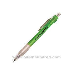 Comfort Grip Series - Green Rubber Gripp Stationary Pen