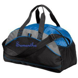 Personalized Monogrammed Duffel Bag Gym Travel Groomsmen School Sports Embroidered 5 to Choose Small