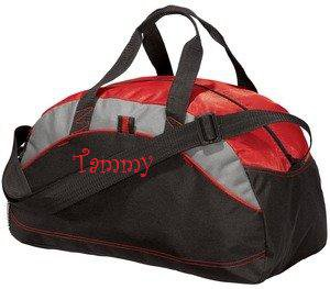 Personalized Monogrammed Duffel Bag Gym Travel Groomsmen School Sports Embroidered 5 to Choose Large