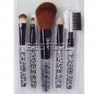 New 5-Piece Makeup Brush Set Kit