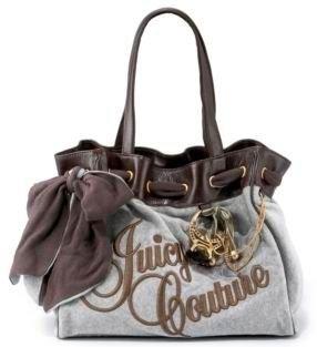New Juicy Couture Daydreamer Day Dreamer Handbag Purse grey coffee 136#