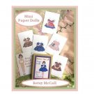 Mini Betsy McCall Paper Dolls & Box  PD1 Great Gift for Doll Collectores