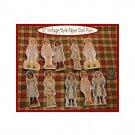 10 Mini Patsy Doll Pins P6