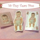 "10 Mini ""Tiny Tears Doll  Pins P19"