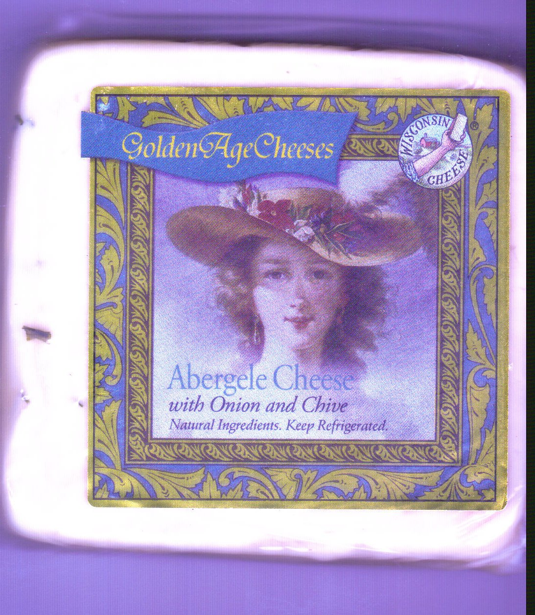 Golden Age Cheeses Onion and chive 2lbs Real Wisconsin Cheese
