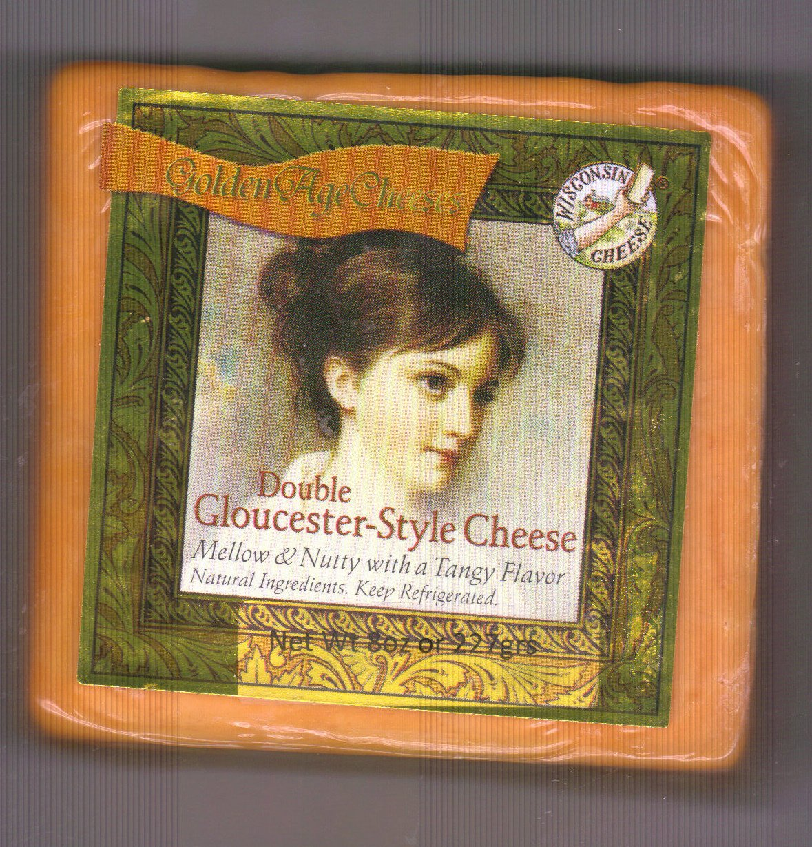 Golden Age Cheeses  Mellow & Nutty with a Tangy Flavor 2lbs Real Wisconsin Cheese