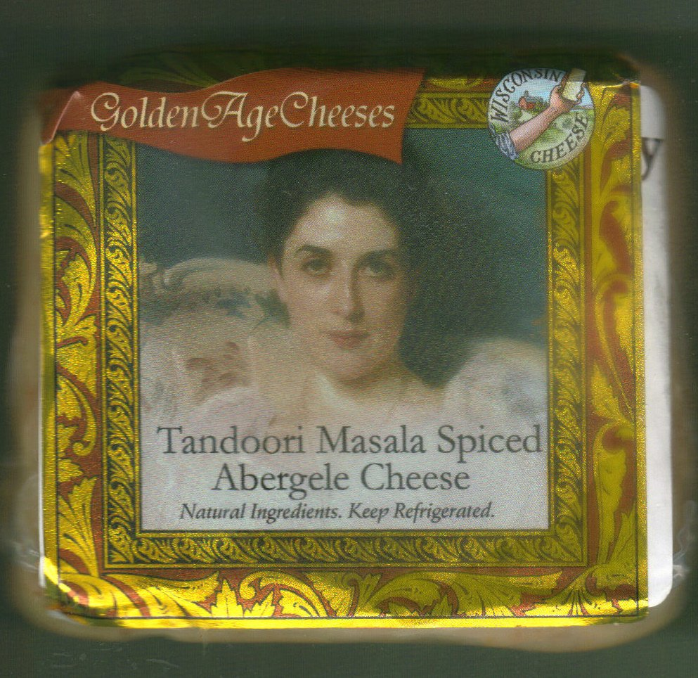 Golden Age Cheeses Tandoori Masala Spiced 2lbs Real Wisconsin Cheese