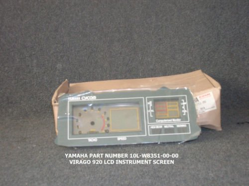 YAMAHA VIRAGO 920J LCD DISPLAY-NOS-1982-
