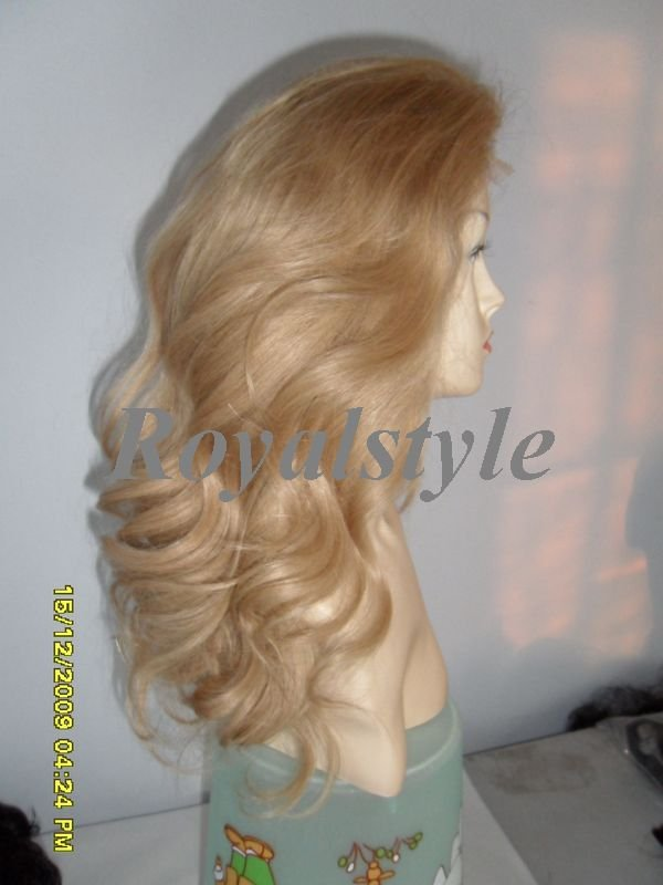 "18"" full lace wigs wavy light color #613~~"