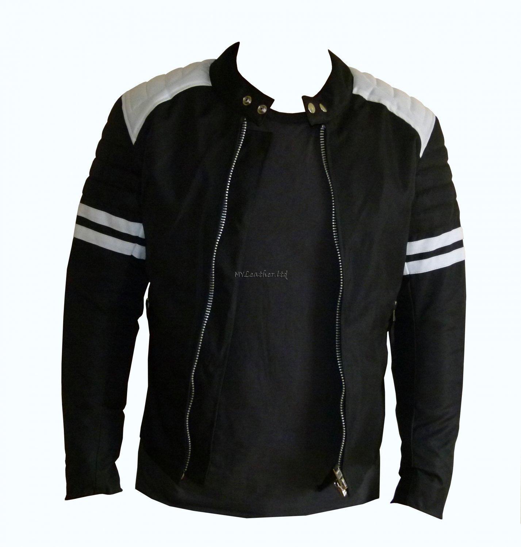 Fight Club Mayhem Black Textile Jacket
