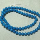 Blue Marble Beads