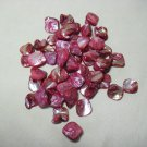 Red Freeform Beads