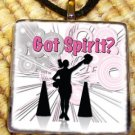 Cheerleading - Got Spirit Glass Pendant