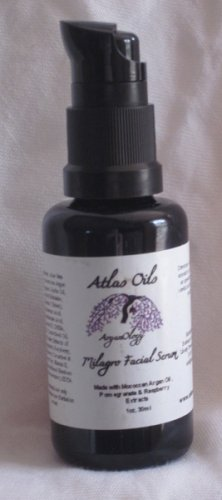 Milagros Facial Serum with Moroccan Argan Oil, Pomegranate and Raspberry