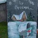 All Hearts Come Home for Christmas 1- Large Slate