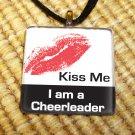 Kiss Me Cheerleader Pendant