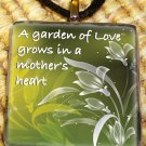 A Mother's Love Glass Pendant