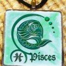 Pisces Glass Pendant