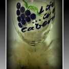 Life is a Cabernet short stemmed 12 oz wine glass