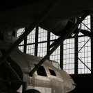 PBY Behind Hangar Door 8x10 matted and framed.