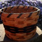 "Amish Coin Basket - 7.5"" diameter - 5"" tall"