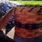 Amish Tiny Bathroom w/ Wooden Lid Basket
