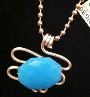 Aqua Stone Pendant