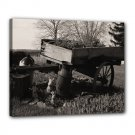 16x20 Gallery Wrap Antique Wagon