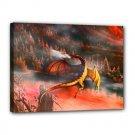 Mystic Dragon 16x12 Canvas